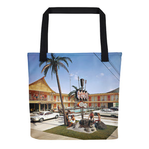 Tahiti Motel 1960's, Wildwood, NJ - Tote Bag