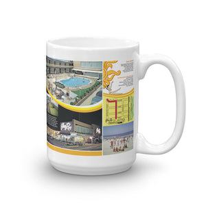 Eden Roc Motel, Wildwood, NJ  1960's Brochure on a Mug
