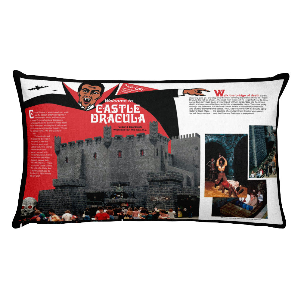 Castle Dracula - Rectangular Pillow
