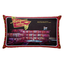 Marquee Motel, North Wildwood, NJ 1960's - Rectangular Pillow