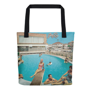 Eden Roc Motel, 1960's Wildwood, NJ - Tote Bag