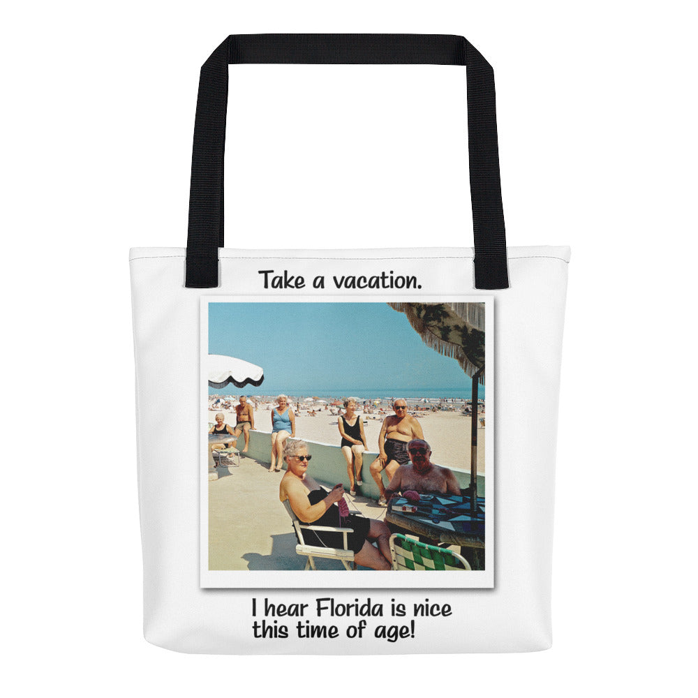 Beach Waves Motel, Wildwood, NJ - Tote Bag