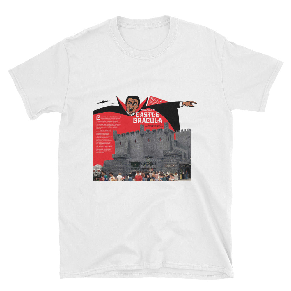 Castle Dracula, Wildwood, NJ - 1960's - Unisex T-Shirt