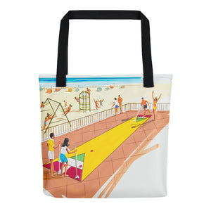 Shuffleboard Art from the 1960's. - Tote Bag