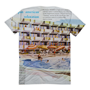 Pan American Motel 1960's Wildwood, NJ, Women's T-Shirt