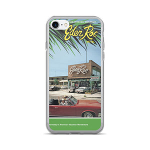 Eden Roc Motel, Wildwood, NJ 1960's Brochure Cover on an iPhone 7/7 Plus Case
