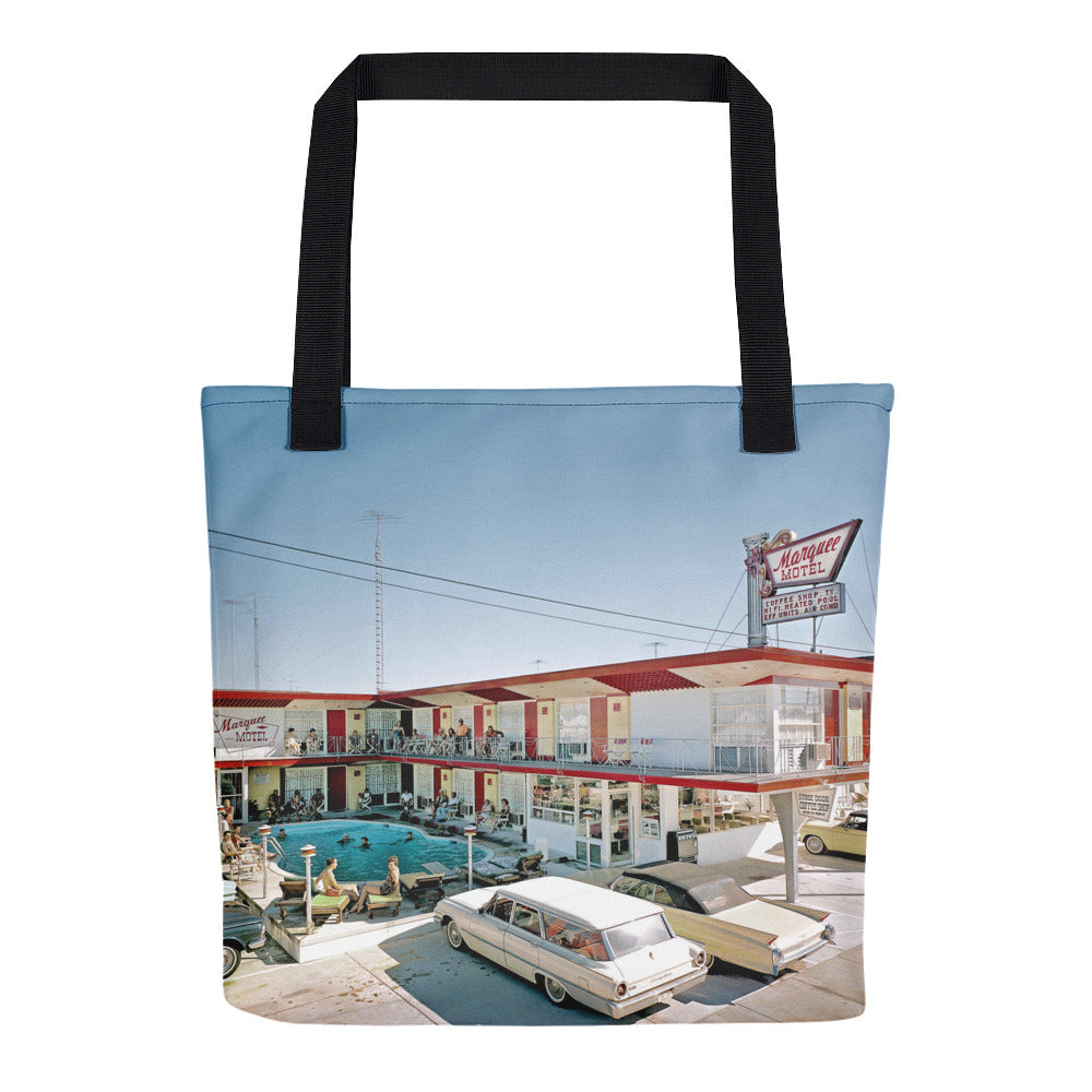 Marquee Motel, North Wildwood, NJ 1960's - Tote Bag