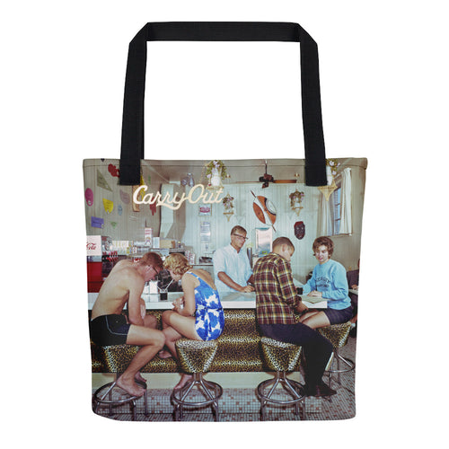 Safari Motel Coffee Shop, 1960's Photograph, Ocean City, MD - Tote Bag
