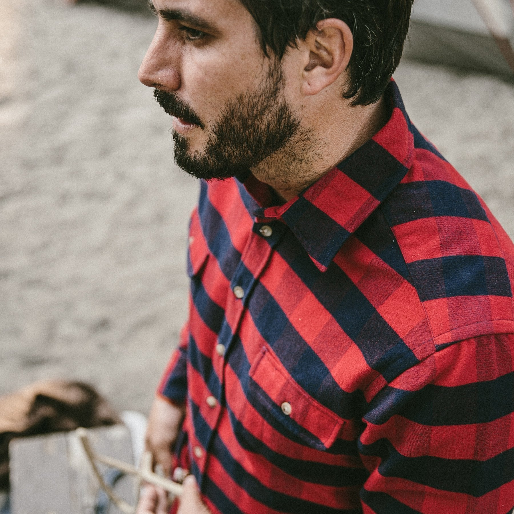 7dfaca4d5686 The Yosemite Shirt in Red Buffalo Plaid – Mayfair
