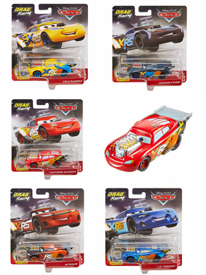 Disney Cars Drag Racers now in stock