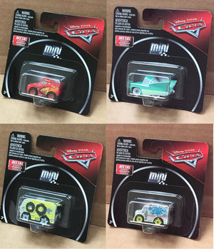 Disney Cars Mini Racers in mini packaging now arrived