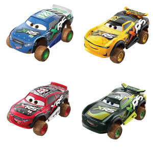 Disney Cars new mud racing characters