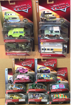 Disney Cars - new deluxe and items back in stock