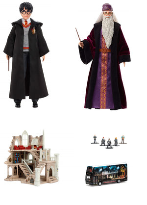 New Harry Potter range of dolls and Nano Metalfigs