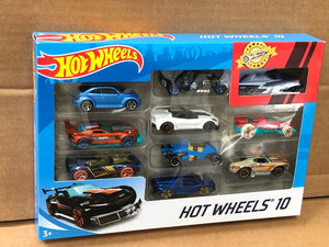 HOT WHEELS DIECAST - 10 Pack