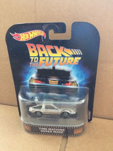 HOT WHEELS RETRO Entertainment -  Back To The Future - Time Machine Hover Mode