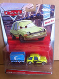 DISNEY CARS DIECAST - Acer With Luggage Cart