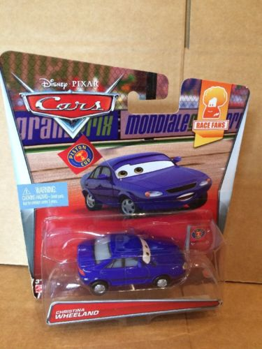DISNEY CARS DIECAST - Christina Wheeland - Race Fan