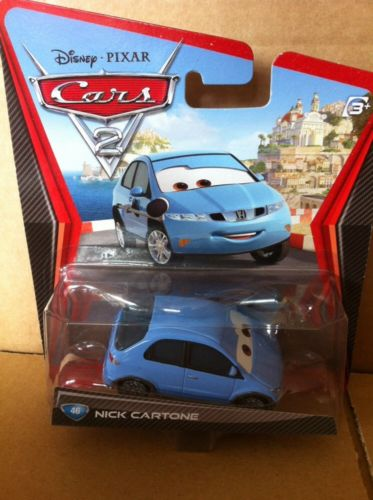 DISNEY CARS DIECAST - Nick Cartone