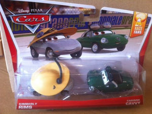DISNEY CARS DIECAST - Kimberly Rims And Carinne Cavvy