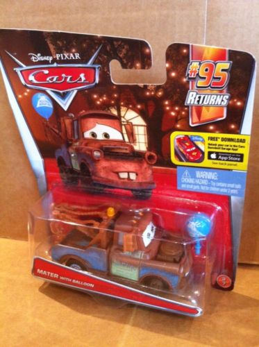 DISNEY CARS DIECAST - Mater With Balloon