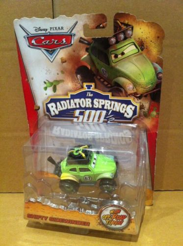 DISNEY CARS DIECAST RS500 - Shifty Sidewinder - Radiator Springs 500 1/2