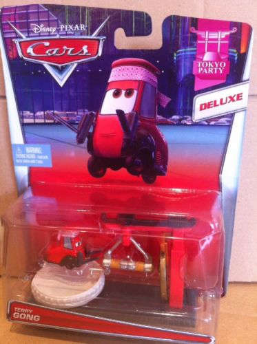 DISNEY CARS DELUXE DIECAST - Terry Gong
