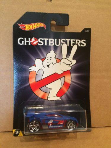 HOT WHEELS DIECAST - Ghostbusters Series - Spectyte - 4/8