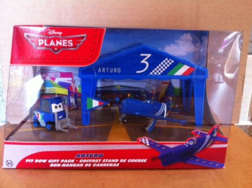 DISNEY PLANES DIECAST - Arturo Pit Row Gift Pack