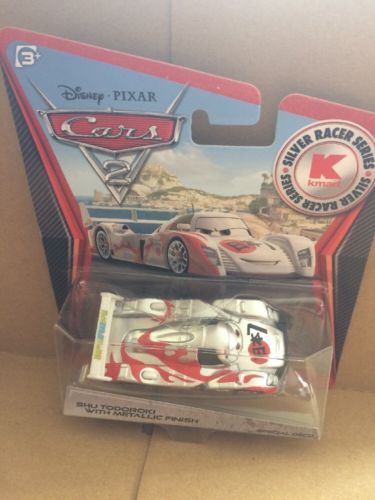 DISNEY CARS DIECAST - Shu Todoroki with Metallic Finish