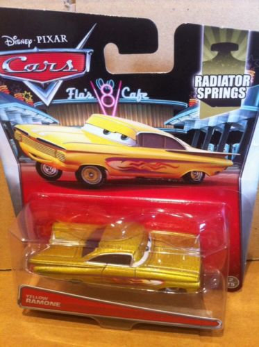 DISNEY CARS DIECAST - Yellow Ramone