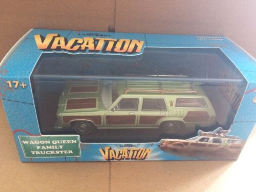 Greenlight Hollywood Diecast - National Lampoons Vacation Wagon Green Family Truck