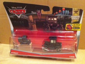 DISNEY CARS DIECAST - Lizzie and Stanley