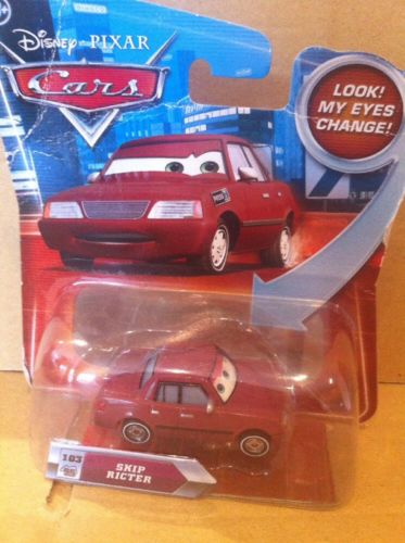 DISNEY CARS DIECAST - Skip Ricter With Changing Eyes