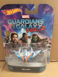 HOT WHEELS RETRO Entertainment -  Marvel Guardians Of The Galaxy Vol. 2 - Milano