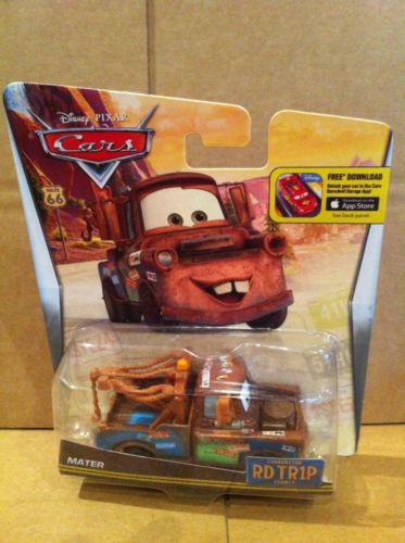 DISNEY CARS DIECAST - Road Trip Mater