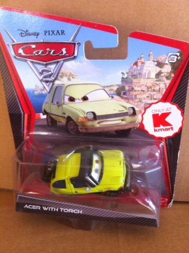 DISNEY CARS DIECAST - Acer With Torch