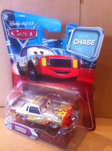 DISNEY CARS DIECAST - Darrell Cartrip in Chase packaging