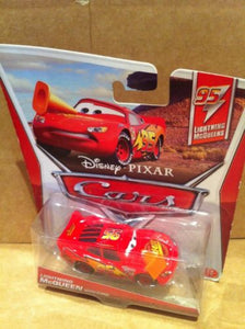 DISNEY CARS DIECAST - Lightning McQueen With Cone