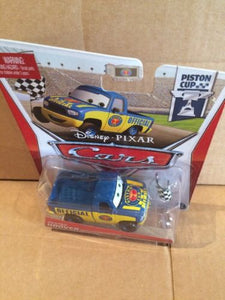DISNEY CARS DIECAST - Dexter Hoover With Checkered Flag