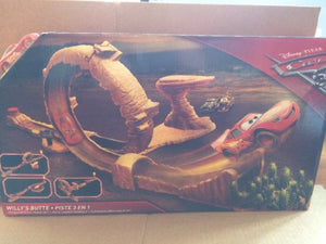 DISNEY CARS 3 - Willy's Butte Transforming Track Set