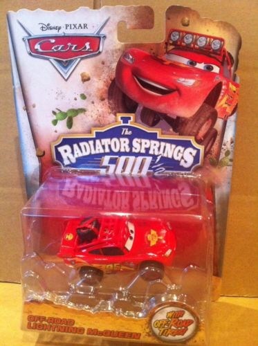 DISNEY CARS DIECAST RS500 -Off-road Lightning McQueen Radiator Springs 500 1/2