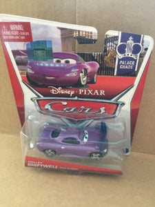 DISNEY CARS DIECAST - Holley Shiftwell With Screen