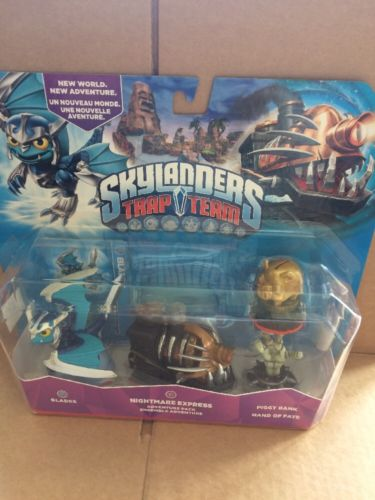 SKYLANDERS TRAP TEAM - Nightmare Express ADVENTURE PACK