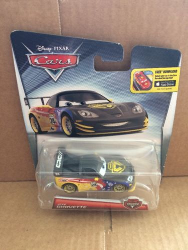 DISNEY CARS DIECAST - Jeff Gorvette Carbon Racer