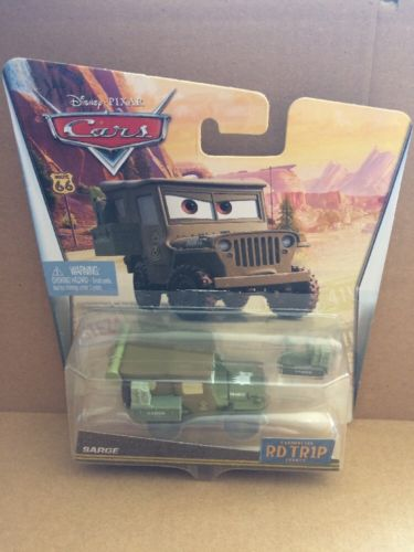 DISNEY CARS DIECAST - Road Trip Sarge
