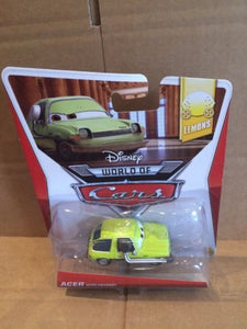 DISNEY CARS DIECAST - Acer With Headset