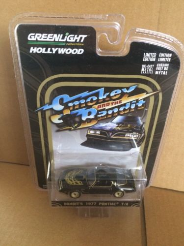Greenlight Hollywood Diecast - Smokey And The Bandit - Bandit's 1977 Pontiac T/A