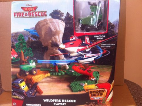 DISNEY PLANES STORY SETS - Wildfire Rescue Playset