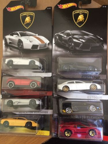 HOT WHEELS DIECAST - Lamborghini Series Set Of 8
